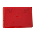 15.4 inch Crystal Cover for Apple Macbook Pro - Red