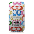 High Quality Coach Pattern Color Back Case for Apple iPhone 4th / 4G - 2