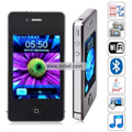 I68 4G Quad Band Dual Cards Dual Cameras WiFi Bluetooth Java 3.2 - inch Touch Screen China Phone