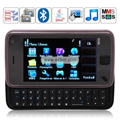 N930 Quad Band Dual Cards Dual Cameras Bluetooth Java 3.2 - inch Touch Screen China Phone - Black