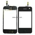 Compatible Fullset Touch Pad with LCD Frame and Sparepart for iPhone 3G Phone