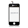 Original Touch Pad with Ribbon for Apple iPhone 4th / 4G - Black