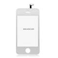 Original Touch Pad with Ribbon for Apple iPhone 4th / 4G - White