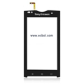 Original Touch Pad with Ribbon for Sony Ericsson X3 Mobile Phone - Black