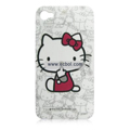 Hello Kitty Pattern Plastic Back Case for Apple iPhone 4th / 4G-2