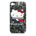 Hello Kitty Pattern Plastic Back Case for Apple iPhone 4th / 4G-3