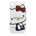 Hello Kitty Pattern Plastic Back Case for Apple iPhone 4th / 4G-6