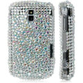 WHITE CRYSTAL DIAMOND BLING CASE FOR BLACKBERRY 9000