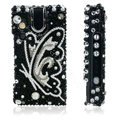 100% Brand New Clear Butterfly Crystal Bling Hard Plastic Case For Sony Ericsson W995