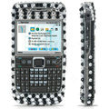 100% Brand New Clear Butterfly 3D Crystal Bling Hard Plastic Case For Nokia E71