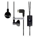 Compatible Earphone for LG BL20 Phone (Black)