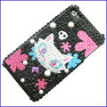 100% Brand New Crystal Bling Rhinestone Diamond Case Skin Cover For iPhone 4 4G