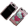 100% Brand New Love Hello Kitty Crystal Bling Rhinestone Diamond Case Skin Cover For iPhone 4 4G