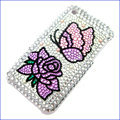 Brand New Flower and Butterfly Crystal Diamond Rhinestone Cover Case for Apple iPhone 3G 3GS