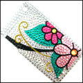 Brand New Flower Crystal Diamond Rhinestone Cover Case for Apple iPhone 3G 3GS