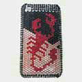 Brand New Pink Scorpion Bling Crystal Diamond Rhinestone Cover Case for Apple iPhone 3G 3GS