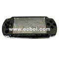 Aluminum Protector Hard Case For Sony PSP 2000 - Black