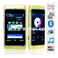 N8 Quad Band Dual Cards Dual Cameras Bluetooth 3.2 Inch Touch Screen China Phone-Green
