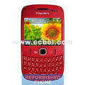 Unlocked BlackBerry 8520 Mobile Phone - Red
