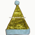 Christmas hat High-grade aluminum foil Gold