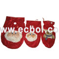 Top grade Flannel Christmas bags Flannel