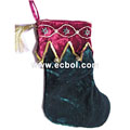 Small bell beautiful Christmas Stocking Non-woven 23L*32H