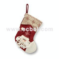 Christmas stockings for the elderly or Snowman Linen cotton 36L*26W*44Hcm