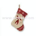 Christmas stocking Linen Christmas party props 48L*33W*23Hcm