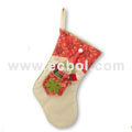 Christmas stocking cotton Special Christmas party props 40L*30W*37Hcm