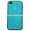 TNF-iPhone-DC001 Dual color PC+TPU Roundish hole design