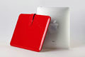 iPad Leather interior pack iPad computer bag DIP Red