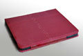 iPad Case Genuine leather Hand-built Original Design - Red