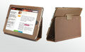 iPad Case Genuine leather No lines Hand-built - Brown