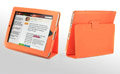 iPad Case Genuine leather No lines Hand-built - Orange