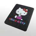 iPad Case Hello Kitty Cute Fashion Silicone Case - Black