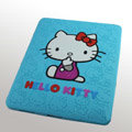 iPad Case Hello Kitty Cute Fashion Silicone Case - Blue