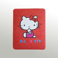 iPad Case Hello Kitty Cute Fashion Silicone Case - Red