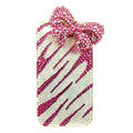 Swarovski crystal iphone 3G case diamond Pretty bows cover