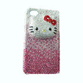 Hello Kitty iphone 3G case crystal diamond cover