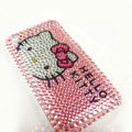 Hello Kitty iphone 3G case crystal bling cover - EB013