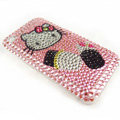 Hello Kitty iphone 3G case crystal bling cover - EB015