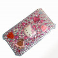 Hello Kitty iphone 3G case crystal bling cover - EB018