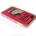 Hello Kitty iphone 3G case crystal bling cover - EB019