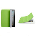 Miraculous magnetic wake smart cover for iPad 2 / The New iPad - Green