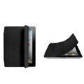 Miraculous magnetic wake smart cover for iPad 2 / The New iPad - black