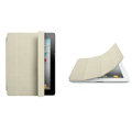 Miraculous magnetic wake smart cover for iPad 2 / The New iPad - white