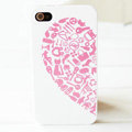 Brand New lovers case for iphone 4 - pink