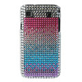 Brand New Rainbow Series bling crystal case for Samsung i9000 - EB001