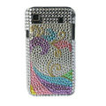 Brand New Rainbow Series bling crystal case for Samsung i9000 - EB004