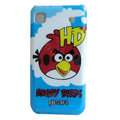 Angry Birds Cartoon Plastic Hard Case Cover For Samsung i9000 - Blue